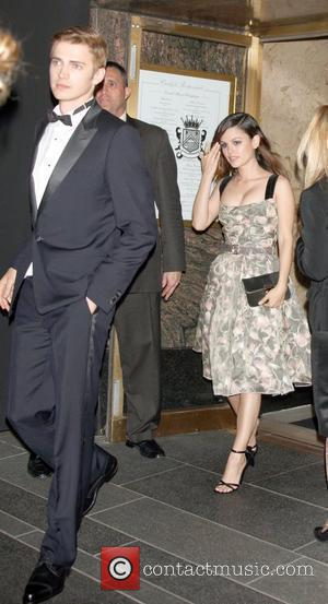 Hayden Christensen and girlfriend Rachel Bilson