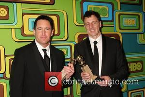Trent Reznor and Atticus Ross  The HBO Golden Globe Party 2011 held at Circa 55 at the Beverly Hilton...