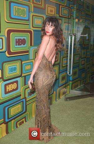 Paz de la Huerta HBO's Post 2011 Golden Globe Awards Party held at Circa 55 at The Beverly Hilton Hotel-...