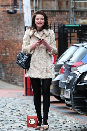 Helen Flanagan steps out in the same outfit as yesterday. Manchester, England - 30.07.10