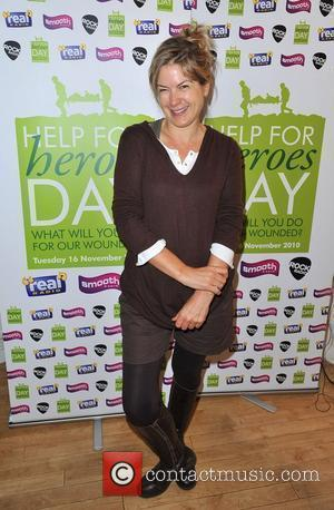 Penny Smith Help for Heroes Day at Smooth Radio. London, England - 16.11.10