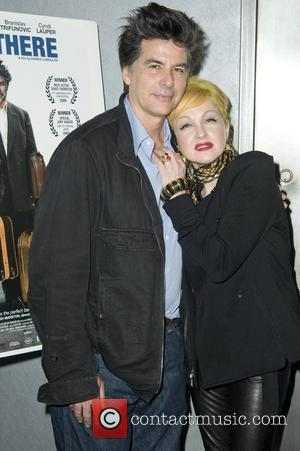 Cyndi Lauper, David Thornton New York premiere of 'Here And There' New York City, USA - 14.05.10