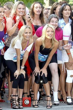 Kristin Chenoweth and Kelly Ripa