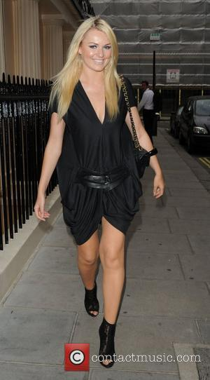 Zoe Salmon,  at the The Hills finale party at the Haymarket Hotel London, England - 27.07.10