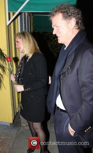 Rick Hilton and Kathy Hilton arrive at Dan Tanas restaurant to celebrate Kathy's birthday Los Angeles, California - 11.03.10