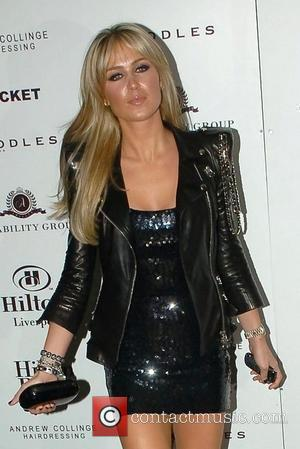 Alex Curran aka Alex Gerrard  Celebrities at the launch of the Hilton Hotel in Liverpool Liverpool, England - 28.01.10