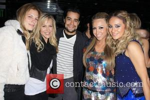Julie Benz with Boyfriend Rich Orosco, Diana Madison and Nora Gasparian  Hollyscoop takes over MI6, held at Club MI6...