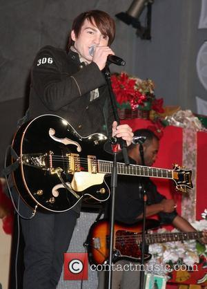 Drake Bell Hollywood & Highland Tree Lighting Concert 2010 at the Hollywood & Highland Center Court Los Angeles, California, USA...