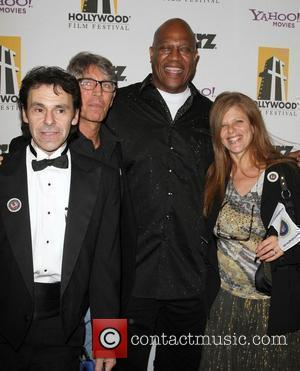 Eric Roberts, Bryan Michael Stoller, Tommy 'Tiny' Lister and Eliza Roberts 14th Annual Hollywood Awards Gala presented by Starz held...