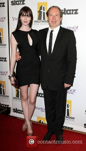 Hans Zimmer and Guest 14th Annual Hollywood Awards Gala presented by Starz held at The Beverly Hilton hotel Beverly Hills,...