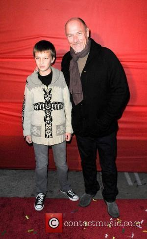 Corbin Bernsen and Son  The Hollywood Christmas Parade held at Author Services - Arrivals Hollywood California - 28.11.10