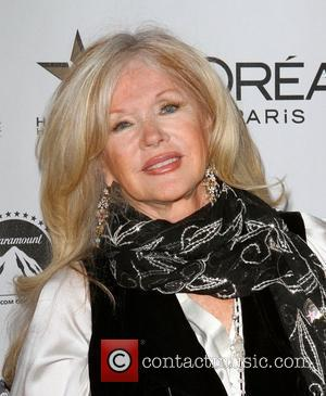 Connie Stevens the 50th anniversary birthday bash for the Hollywood Walk of Fame Held On the Walk of Fame Hollywood...