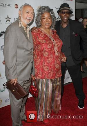 Della Reese and Arsenio Hall