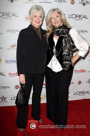 Shirley Jones and Connie Stevens