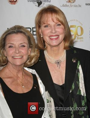 Shirley Jones, Connie Stevens the 50th anniversary birthday bash for the Hollywood Walk of Fame Held On the Walk of...