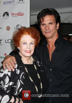 Arlene Dahl and Lorenzo Lamas
