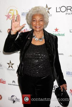 Nichelle Nichols  The 50th anniversary Birthday bash for the Hollywood Walk of Fame Hollywood, California - 03.11.10