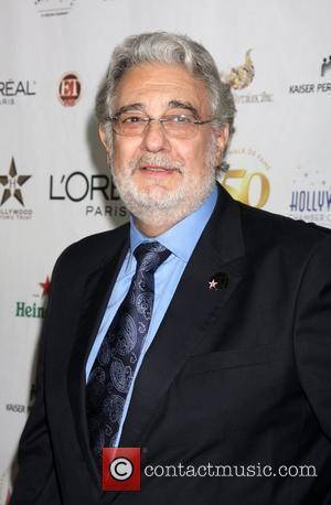Placido Domingo  The 50th anniversary Birthday bash for the Hollywood Walk of Fame Hollywood, California - 03.11.10