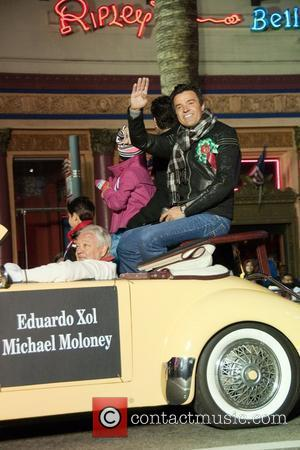 Eduardo Xol and Michael Moloney 2010 Hollywood Christmas Parade  Hollywood California - 28.11.10