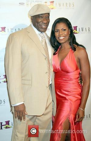 Michael Clarke Duncan and Omarosa Manigault-Stallworth arrives to the 8th Annual Ford Hoodie Awards held at the Mandalay Bay Hotel...