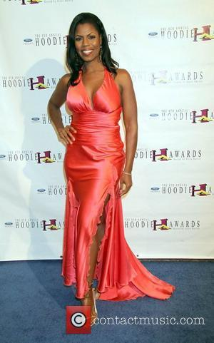 Omarosa Manigault-Stallworth arrives to the 8th Annual Ford Hoodie Awards held at the Mandalay Bay Hotel and Casino Events Center...