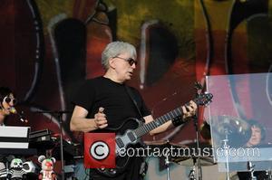 Blondie's guitarist and Blondie