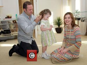 Milla Jovovich with daughter Ever Gabo and Pacal Mouawad The Hospitality Suite hosted by Pacal Mouawad held at the Nivea...