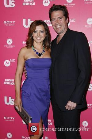 Alyson Hannigan and Alexis Denisof