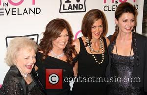 Actors Valerie Bertinelli, Betty White and Valerie Bertinelli