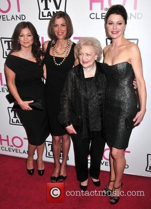 Valerie Bertinelli and Betty White