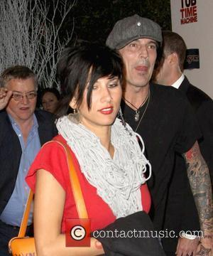 Tommy Lee and girlfriend Sofia Toufa MGM & United Artisits' 'Hot Tub Time Machine' after party, held at Cabana Club...