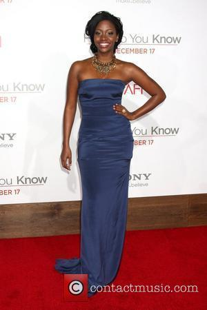 Teyonah Parris The Premiere of 'How Do You Know' held at Regency Village Theatre - Arrivals Los Angeles, California -...