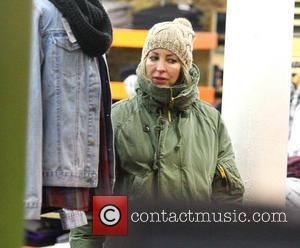 Natalie Appleton  shopping at Urban Outfitters in London London, England - 01.12.10