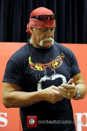 Hulk Hogan  signs copies of his new autobiography 'My Life Outside The Ring' at Chapters Festival Hall Toronto, Canada...