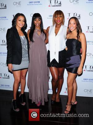 Lala Vasquez, Kelly Rowland and Serena Williams