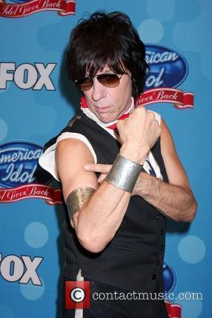 Jeff Beck 'Idol Gives Back' held at Pasadena Civic Center in Pasadena - Press Room Los Angeles, California - 21.04.10