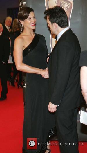 Glenda Gilson meets Matt Dillon Irish Film and Television Awards 2010 (IFTAs) at the Burlington Hotel - Arrivals Dublin, Ireland...