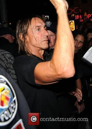 Iggy Pop  leaves Yonge-Dundas Square after performing at the 2010 NXNE outdoor concert Toronto, Canada - 19.06.10