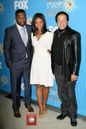 50 Cent, Curtis Jackson, Kimberly Elise and Smokey Robinson