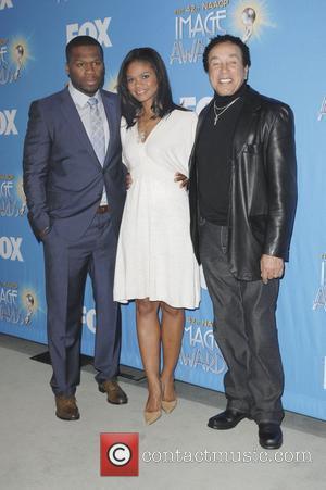 Curtis Jackson, 50 Cent, Kimberly Elise and Smokey Robinson
