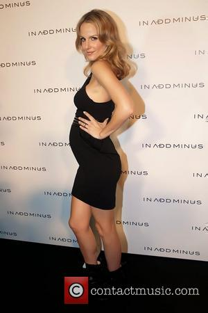 Monet Mazur In Add Minus flagship store opening event - Arrivals Los Angeles, California - 18.11.10