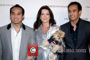 Nasa Nasimuddin, Lisa Vanderpump from 'The Real Housewives of Beverly Hills' with her dog Giggy and Faliq Nasimuddin In Add...