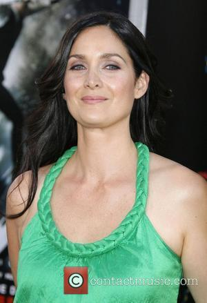 Carrie-Anne Moss and Bros