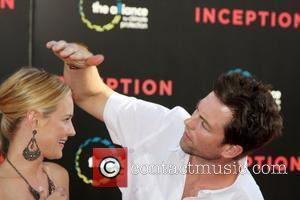 Sharon Case & Michael Muhney Warner Bros. Pictures' Los Angeles Premiere of Inception held at the Grauman's Chinese Theatre Hollywood,...