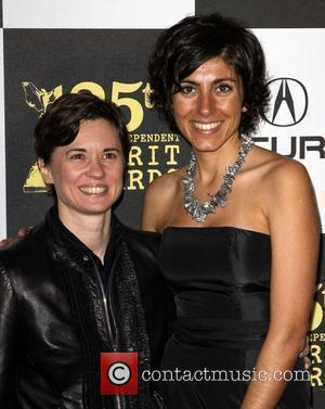 Kimberly Peirce and Guest The 25th Film Independent Spirit awards held at the Nokia L.A. Live.  Los Angeles, California...