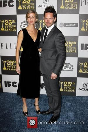 Scott Cooper and Jocelyne Copper The 25th Film Independent Spirit awards held at the Nokia L.A. Live.  Los Angeles,...