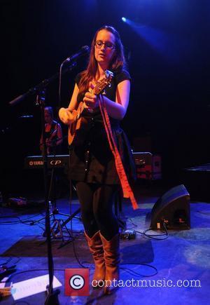 American singer Ingrid Michaelson performing at Shepherds Bush Empire London, England - 26.05.10