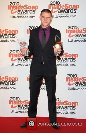 Danny Miller winner of Best Actor and Best Dramatic Performance The Inside Soap Awards 2010 - press room London, England...