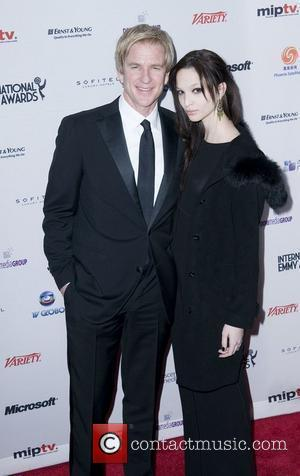 Matthew Modine and Ruby Modine 38th International EMMY Awards - Arrivals New York City, USA - 22.11.10