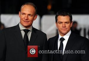 Matt Damon and Francois Pienaar 'invictus' Uk Premiere Held At The Odeon West End.